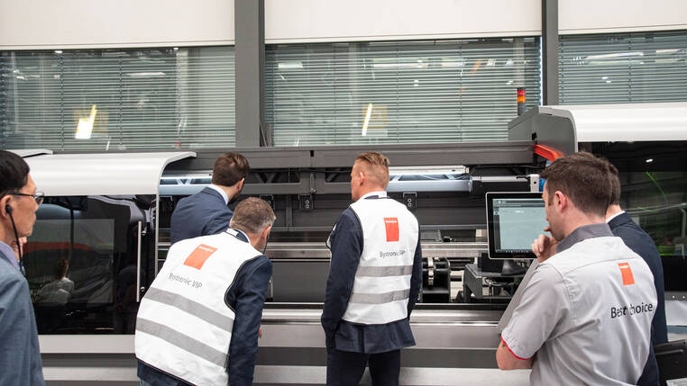 Innovative tube processing: With the ByTube 130, Bystronic has launched a new fiber laser cutting system for tube processing.